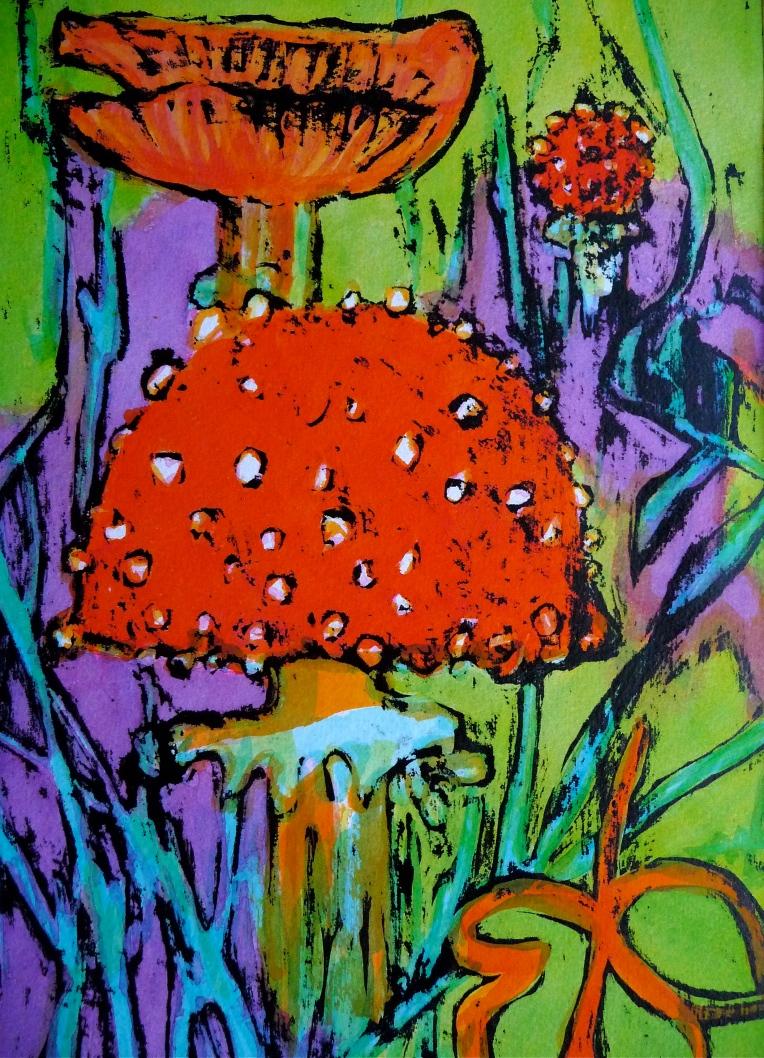 Fungi - Fly Agaric - Jenny Hill